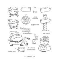 Signs of Santa Photopolymer Stamp Set