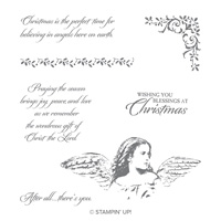 Angels on Earth Clear-Mount Stamp Set