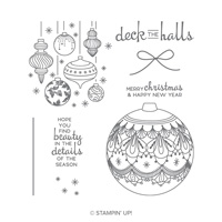 Beautiful Baubles Photopolymer Stamp Set