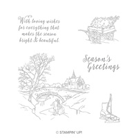 Cambridge Carols Wood-Mount Stamp Set