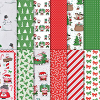 Santa's Workshop 12 x 12 (30.5 x 30.5 cm) Specialty Designer Series Paper