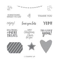Takeout Treats Clear-Mount Stamp Set