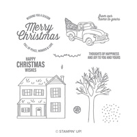 Farmhouse Christmas Photopolymer Stamp Set