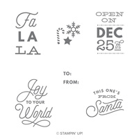 Sincerely Santa Clear-Mount Stamp Set