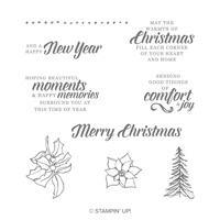 Timeless Tidings Wood-Mount Stamp Set