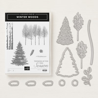 Winter Woods Clear-Mount Bundle